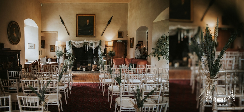 Tullibole Castle wedding