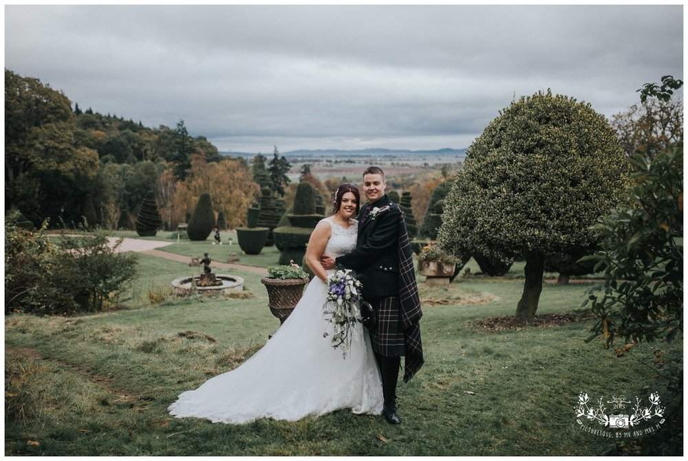Fingask Castle wedding
