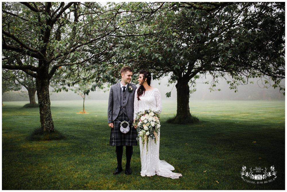 Kirknewton house stables, scottish wedding photographer, Picturesque by Mr and Mrs M_0058.jpg