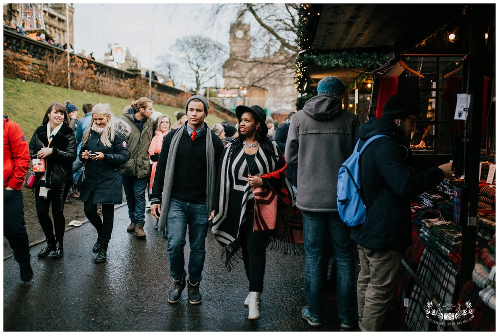 Edinburgh Christmas Market, Couples Shoot, Wedding Photography,  Scotland, Falkirk, Glasgow, Edinburgh, Picturesque by Mr and Mrs M_0008.jpg