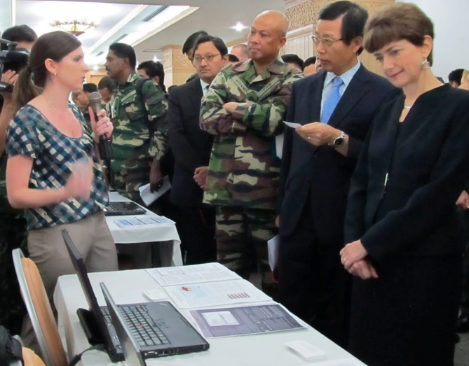 Milcord team demonstrates  semantic wiki for civil information management in Thailand at Cobra Gold 2011 - annual U.S.- Thai co-sponsored joint and multinational exercise.