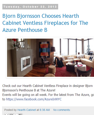 The Azure Penthouse B#  October 2013