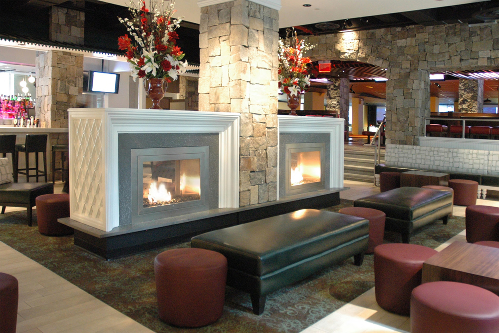 Fireplace Design unvented fireplace : Commercial Fireplaces & Office Fireplace Designs by HearthCabinet