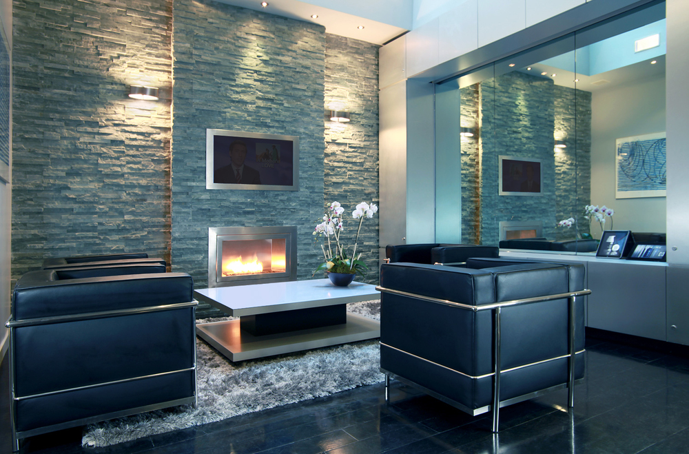 Commercial Fireplaces & Office Fireplace Designs by HearthCabinet