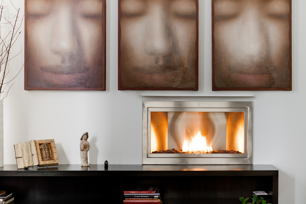 Panoramic Hearthcabinet Ventless Fireplaces Modern Traditional Ventless Fireplaces