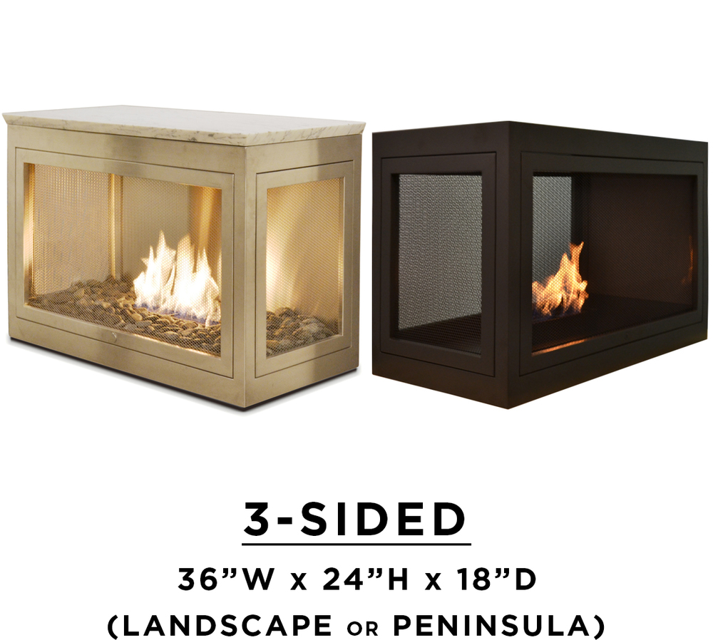 Hearth Cabinet Ventless Fireplaces: Modern Ventless Fireplaces