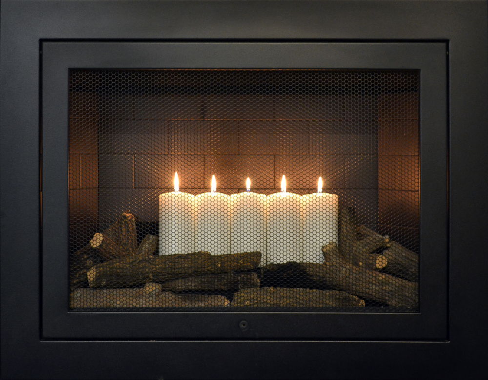 See our various small fireplace options in the HearthCabinet photo gallery.  Choose your size