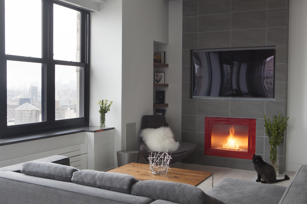 Custom ventless fireplaces personal fireplaces designed for Ventless fireplace modern