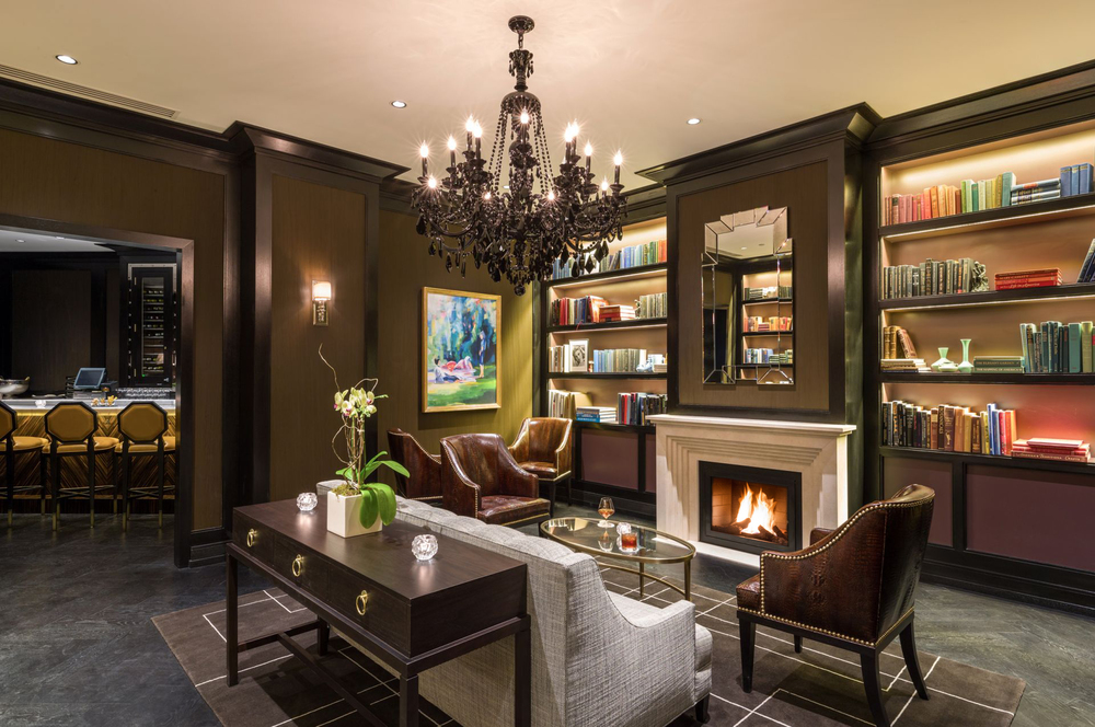 The Rittenhouse Hotel Library Bar