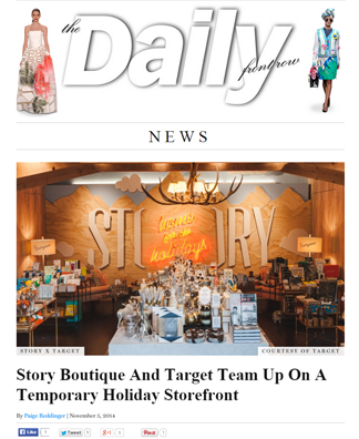 The Daily Front Row <br> #November 2014