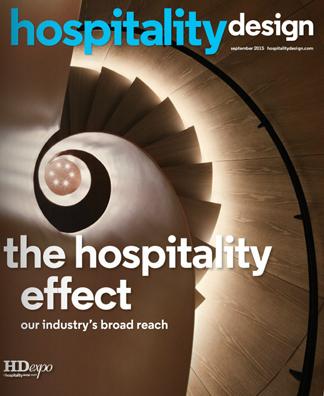 Hospitality <br> Design Magazine <br> #September 2015