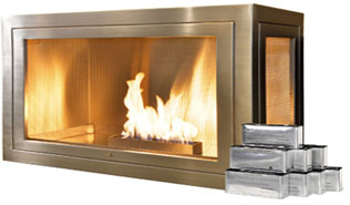 Handcrafted Modern & Traditional Ventless Fireplaces. No chimney