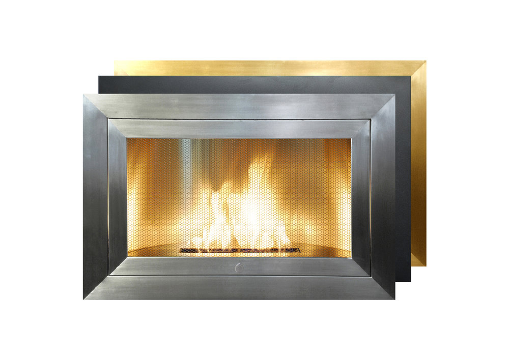 Charmant Linear   Ventless Fireplace
