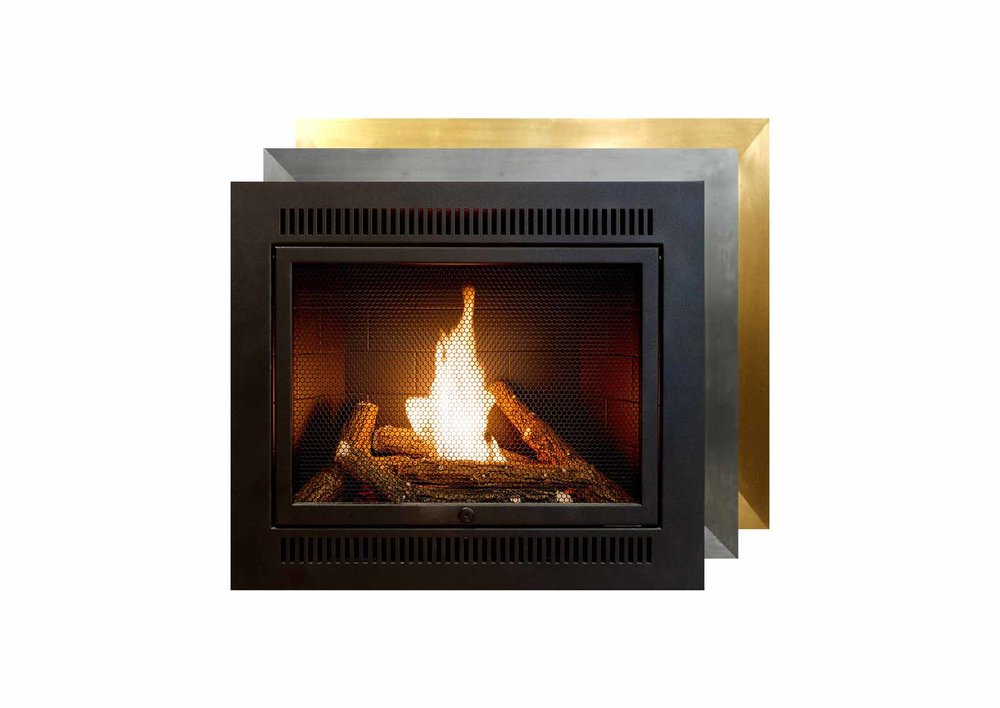 small ventless fireplace