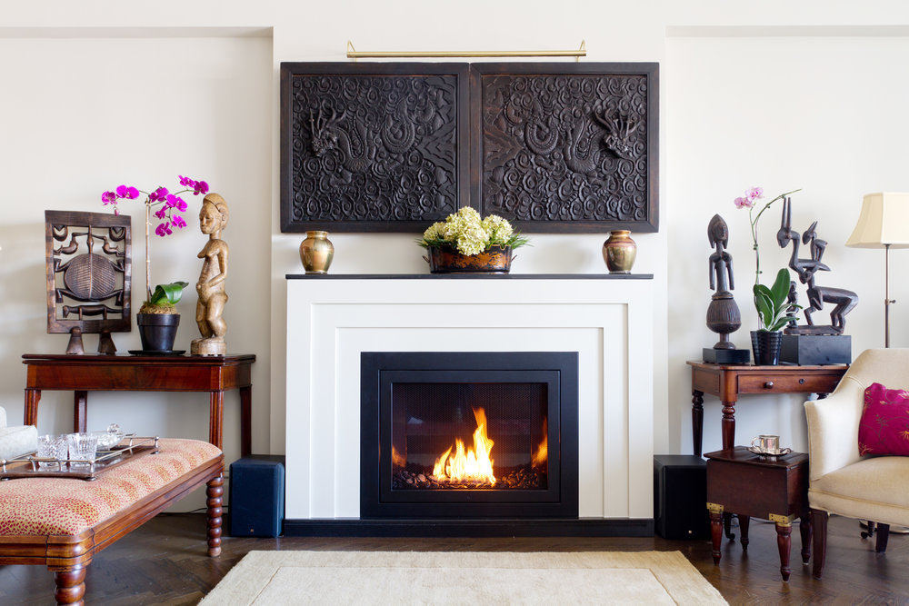 HearthCabinet Ventless Fireplaces   Central Park East