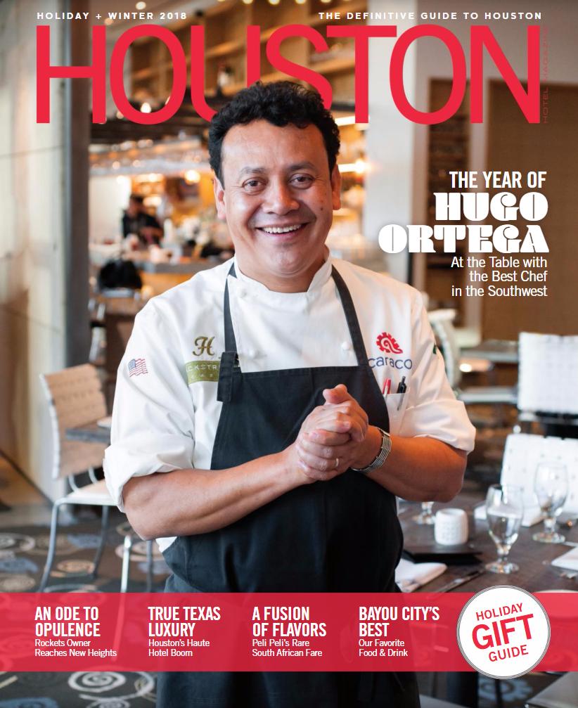 Houston Hotel Magazine <br> November 2017