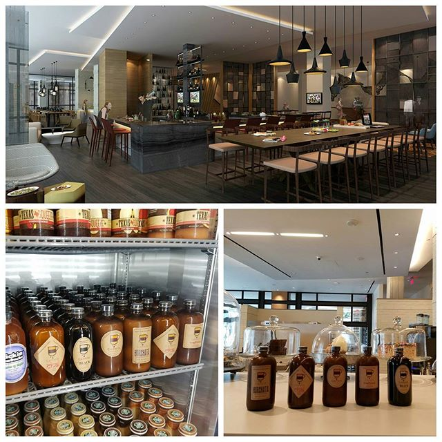 All 5 flavors of #Caphin #vietnameseicedcoffee are now proudly being stocked at the brand new, gorgeous @hyattregencyhoustongalleria!  Even if you're not staying at the #Hyatt, you've GOT to check out their fantastic cafe! If you're in the #Galleria area, stop by for a quick bite and a bottle of #Houston's favorite #CafeSuaDa!! #BrewedinTexas #SLGT #HyattRegency #TexasCoffee