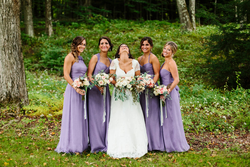 lilac colored bridesmaid dresses