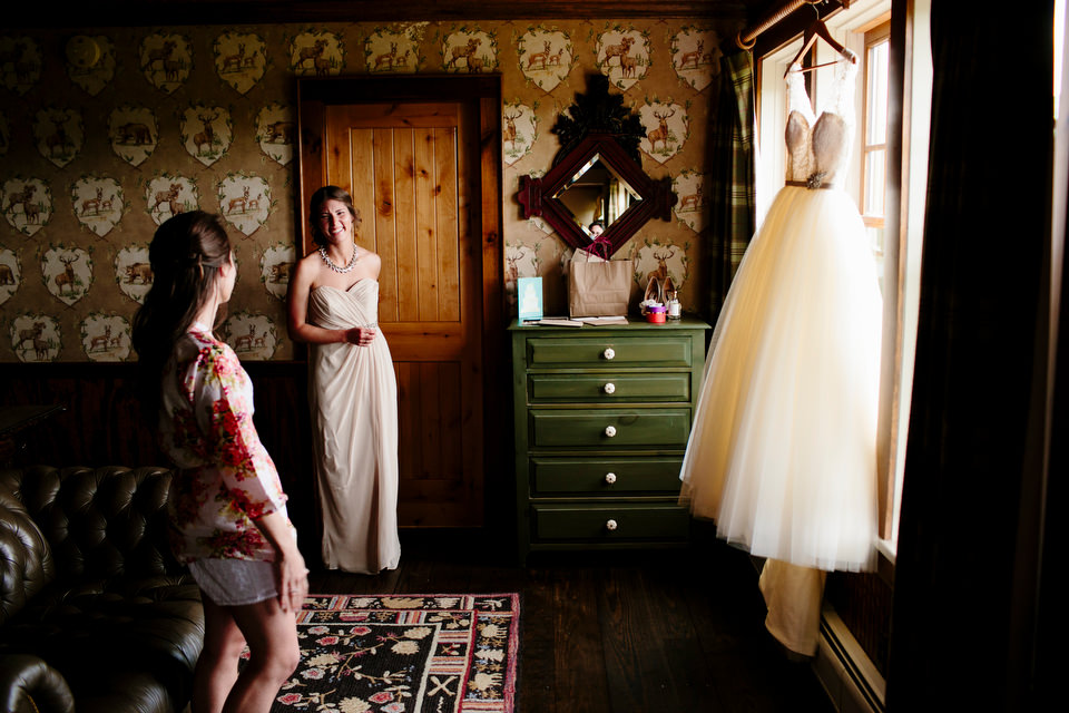 Bridal prep at the Inn