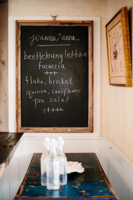 family style dinner menu