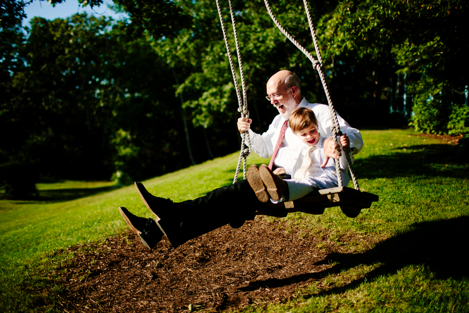 The swing at the Beach Plum Inn