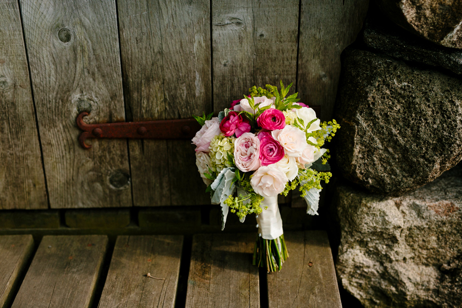 rustic and whimsical floral bouquet