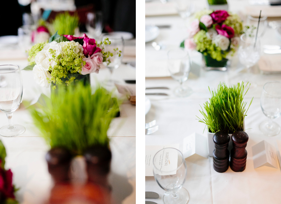 table design and florals