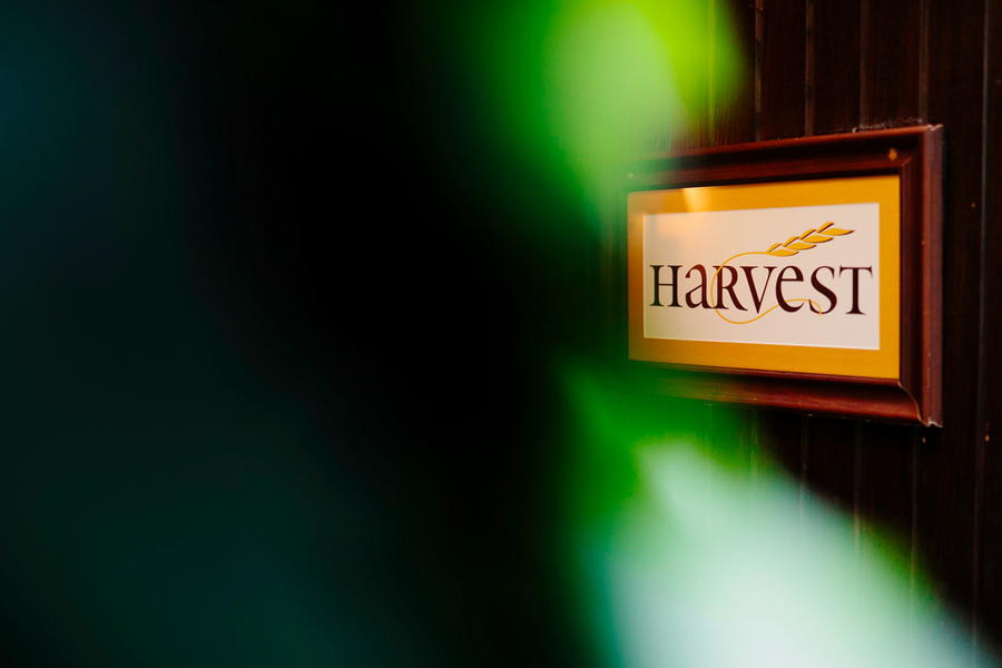 entrance to harvest