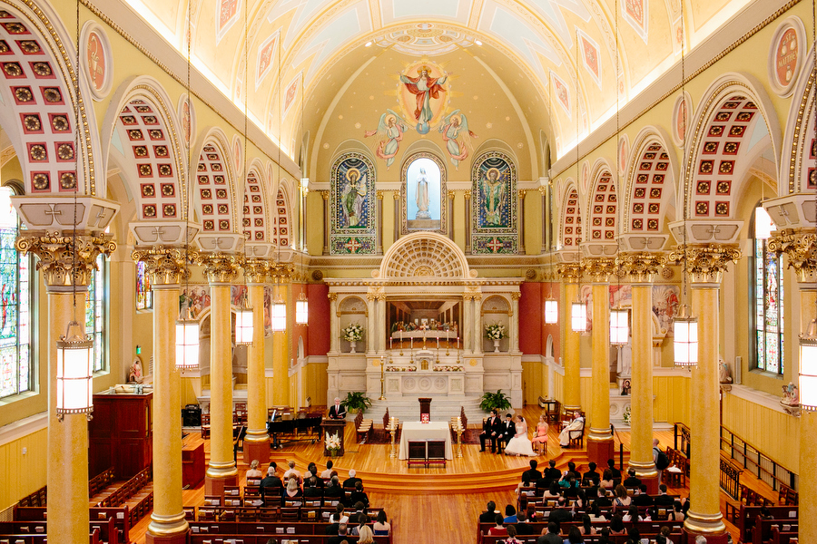 Interior Shot of Church