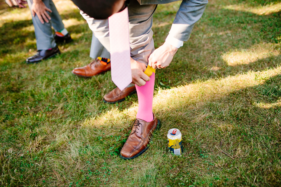 Socks and beer