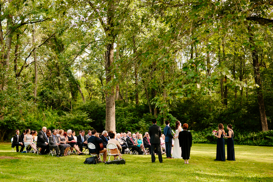 Wedding Ceremony Wide Shot