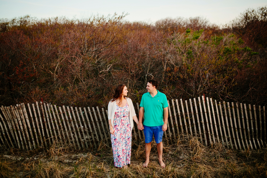 wedding couple on plum island