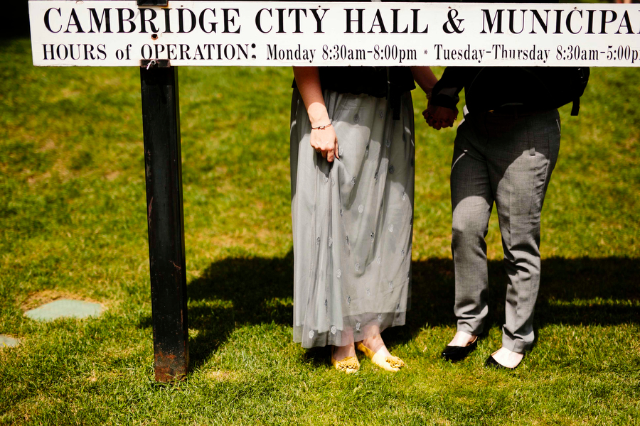 cambridge city hall elopement