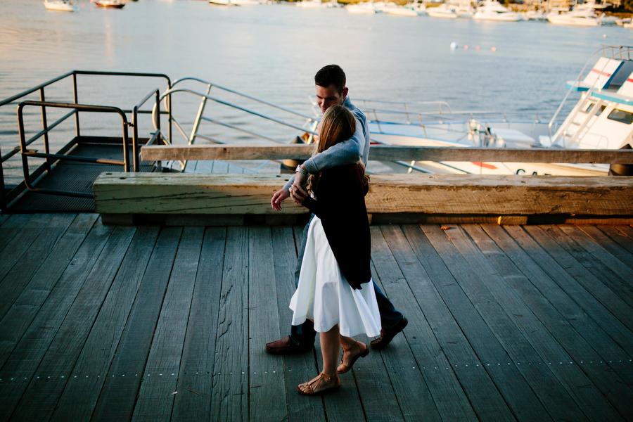 ocean boardwalk engagement sessiopn
