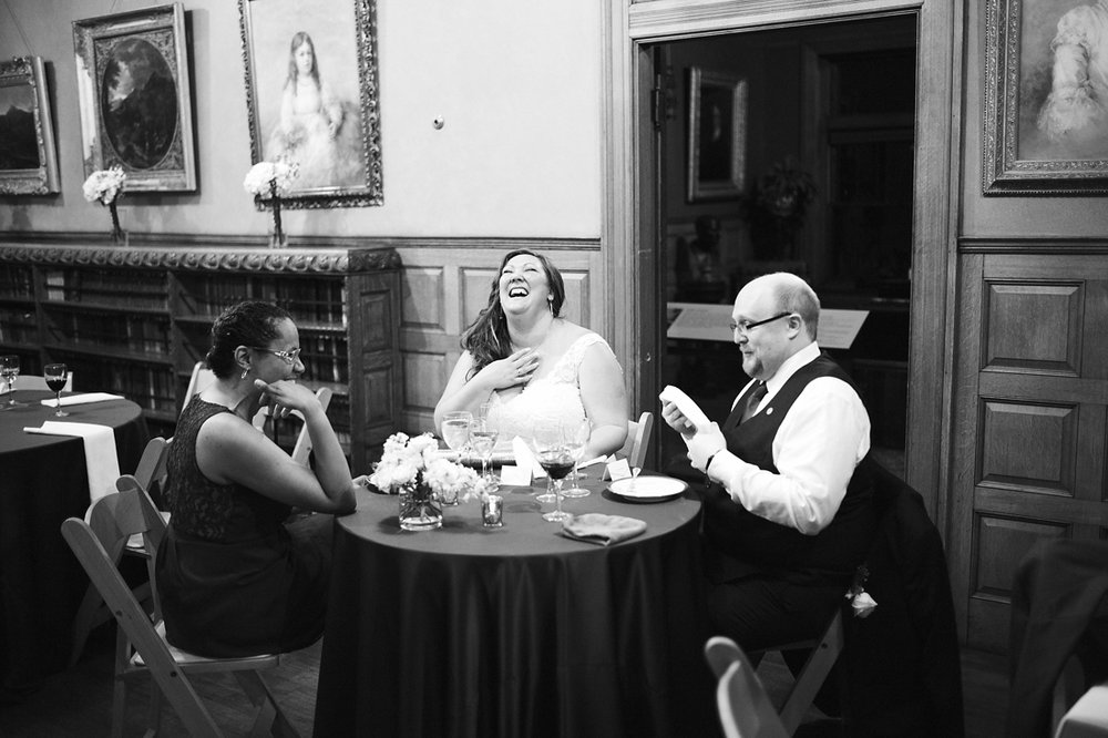 laughing bride at stonehurst robert treat paine estate wedding