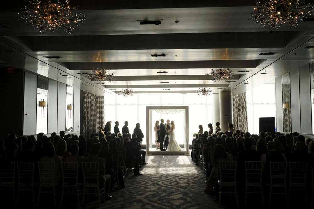beautiful traditional jewish wedding ceremony at the ritz carlton hotel in boston