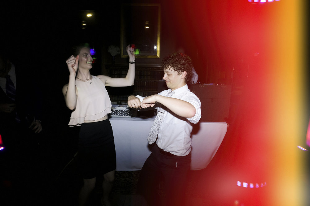 guests dancing at stonehurst robert treat paine estate wedding reception