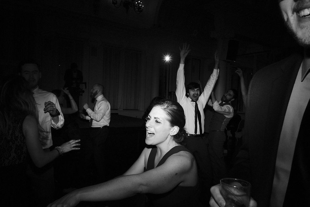 guests dancing at canfield casino in saratoga springs, ny