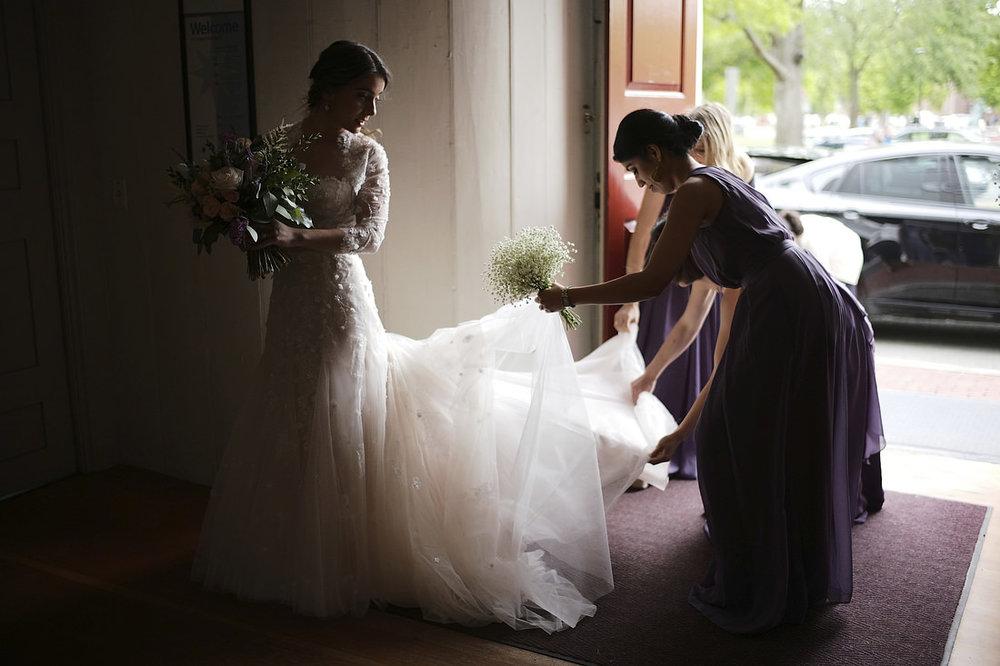 bride-ready-to-walk-down-aisle-Boston-Seaport-hotel-wedding.jpg