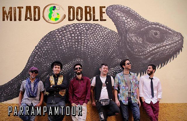 Rumba, Reggae, Ska, Rock y Funk con descaro y buen rollo...MITAD DOBLE esta noche y con entrada gratuita!👾✌ _________________________________________________ Rumba, Reggae, Ska, Rock & Funk with cheek, energy and good vibes...MITAD DOBLE tonight, free entry! 👾✌🏽