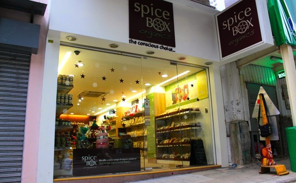 SPICEBOX ORGANICS   72 THIRD ST., G/F SHOP K, FOOK MOON BUILDING, SAI YING POON, HONG KONG