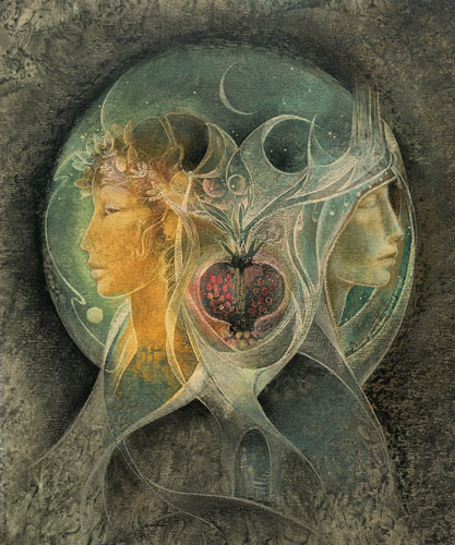 Persephone and Demeter, by Susan Seddon Boulet. http://www.turningpointgallery.com/detail.asp?id=26