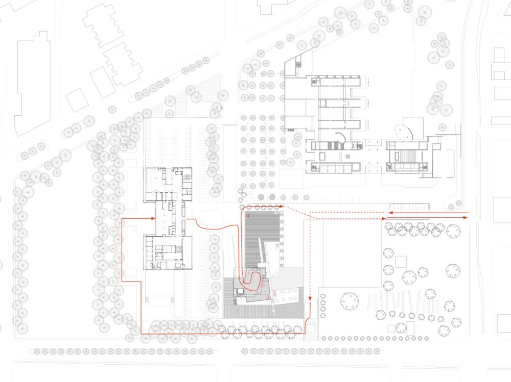 Site Circulation Plan