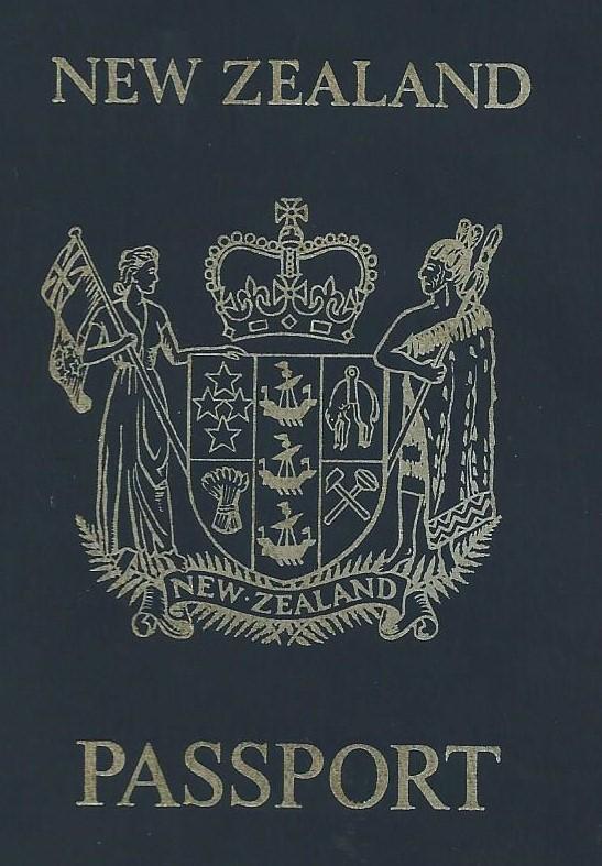 New Zealand Passport 1979