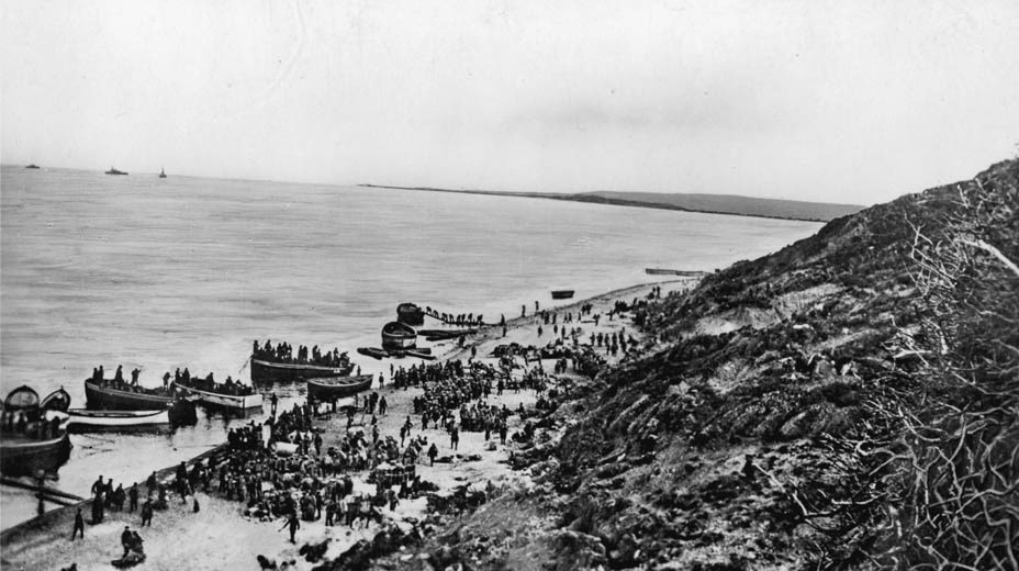 Gallipoli Landings, Anzac Cove, 25 April 1915.