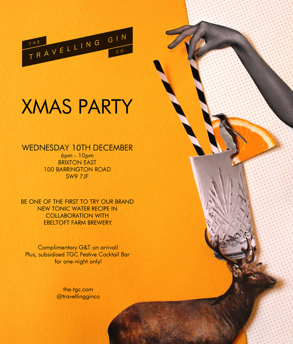 Xmas Party Invitations w/  Wonderbook