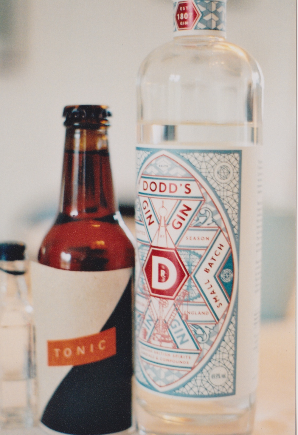 Brand drafting: Tonic Water design.  w/ Ebeltoft Farm Brewery, Denmark