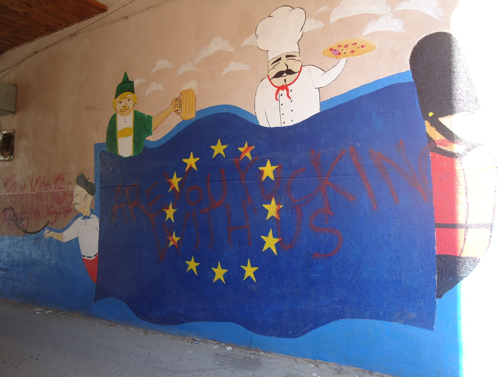 Prishtina's 'Little Europe'