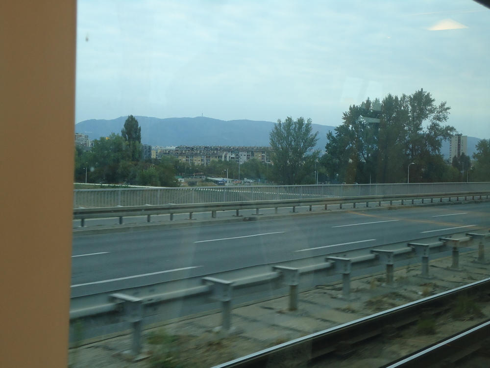 The orientation of Zagreb is toward the mountains