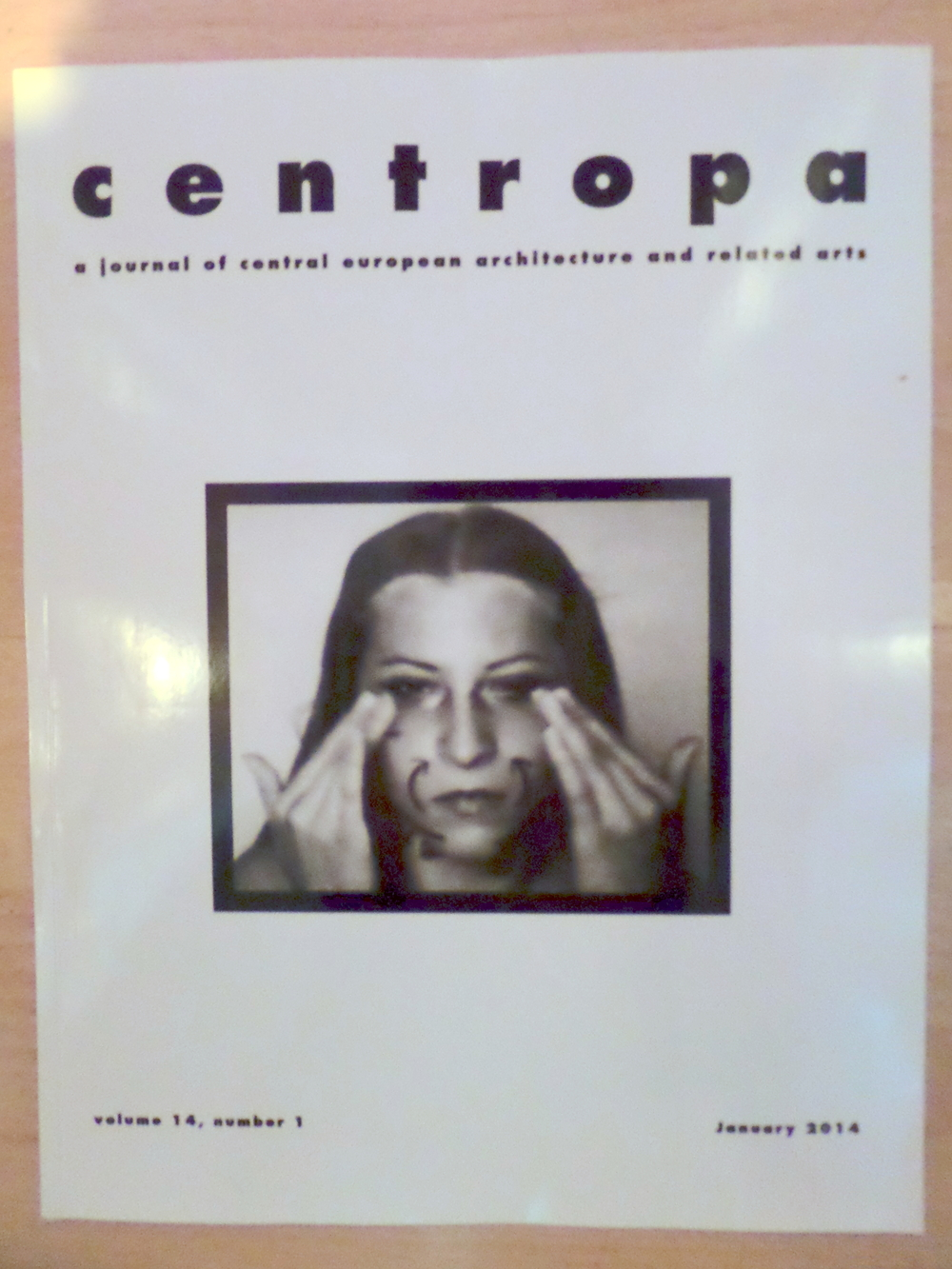 The January 2014 edition of  Centropa : a special edition on Performance Art in Central and Eastern Europe